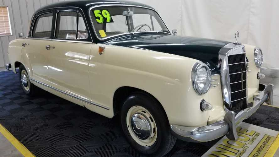 1959 Mercedes-Benz 190 B Boasts Factory Specs