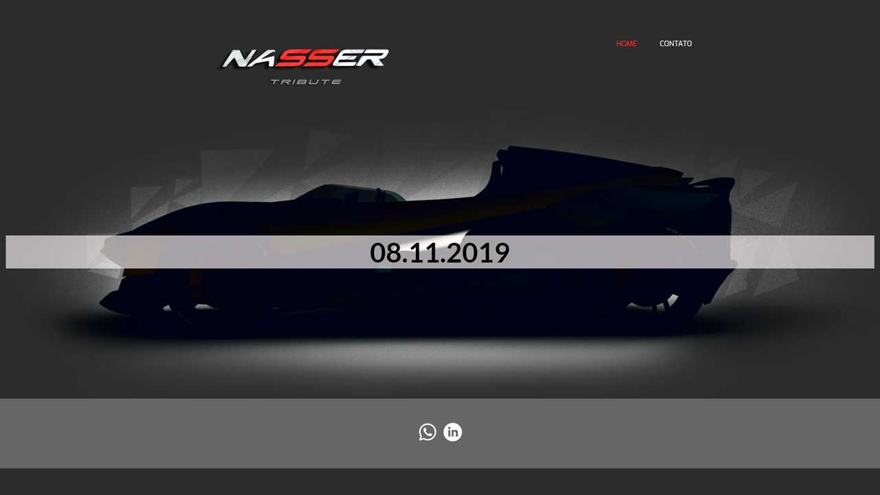 Check The Nasser Project, A Tribute Electric Kit Car From Brazil