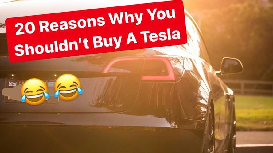 Is There Any Validity To These 20 Reasons You Shouldn't Buy A Tesla?