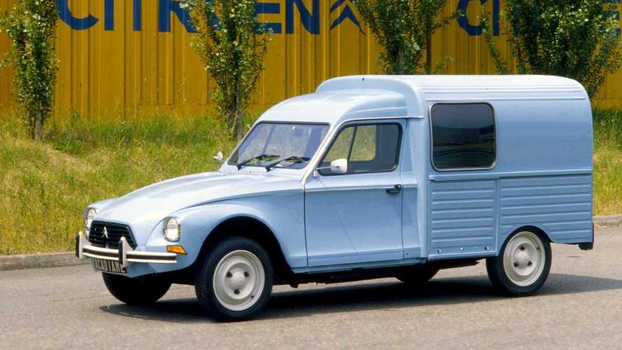 100 Jahre Citroën: Origineller Kleintransporter Acadiane
