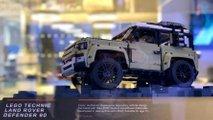 Land Rover Defender 90 Lego Technic на автосалоне во Франкфурте