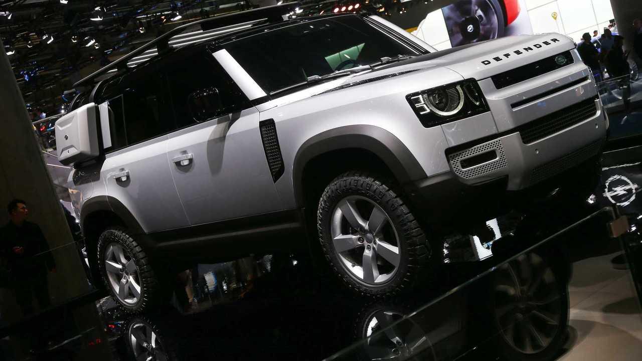 2020 Land Rover Defender: Frankfurt 2019