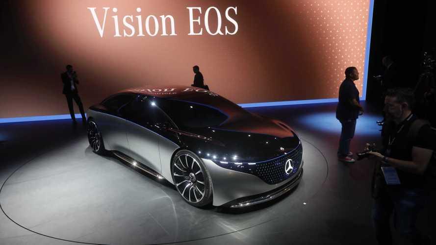 Mercedes Vision EQS, una scossa alla classica ammiraglia