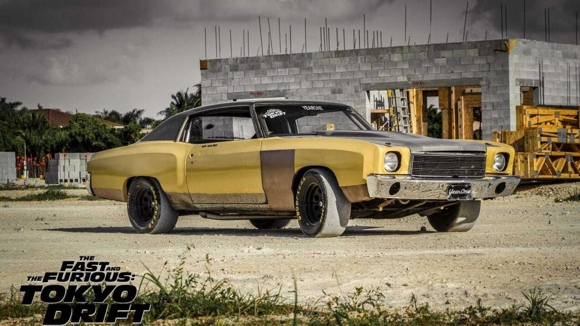 1971 Chevy Monte Carlo From Fast And Furious Tokyo Drift For Sale