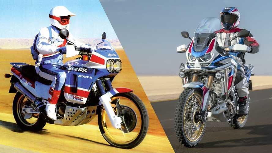 Honda Africa Twin, la storia dal 1988 ad oggi
