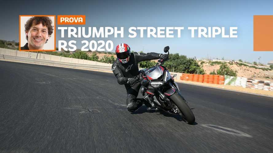 Triumph Street Triple RS 2020, la prova su strada