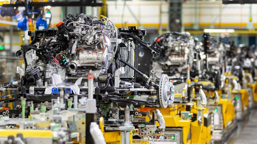 UK car production stabilised slightly in November, figures show
