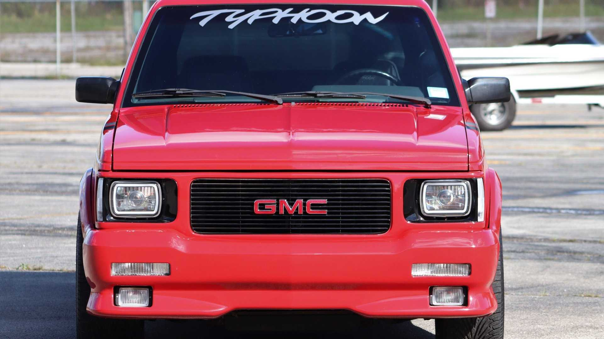 "[""Get Your Hands On This Red-Hot 1992 GMC Typhoon""]"