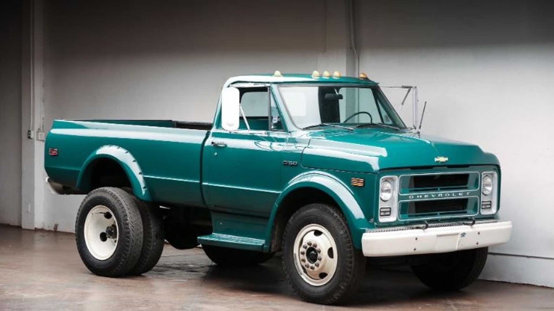 One Up Your Buddies With This Monster 1972 Chevy C50