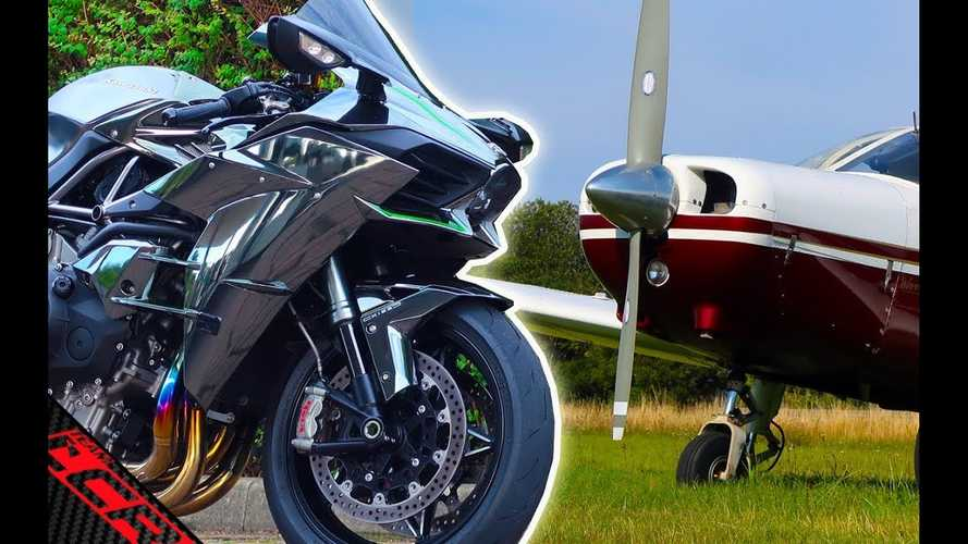 Can A Motorcycle Really Beat a Plane?