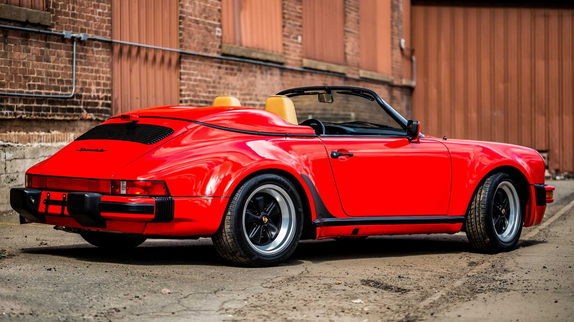 "[""Be The Wind In A 1989 Porsche 911 Speedster""]"