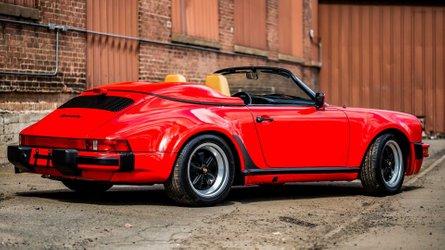 Be the wind in a 1989 porsche 911 speedster