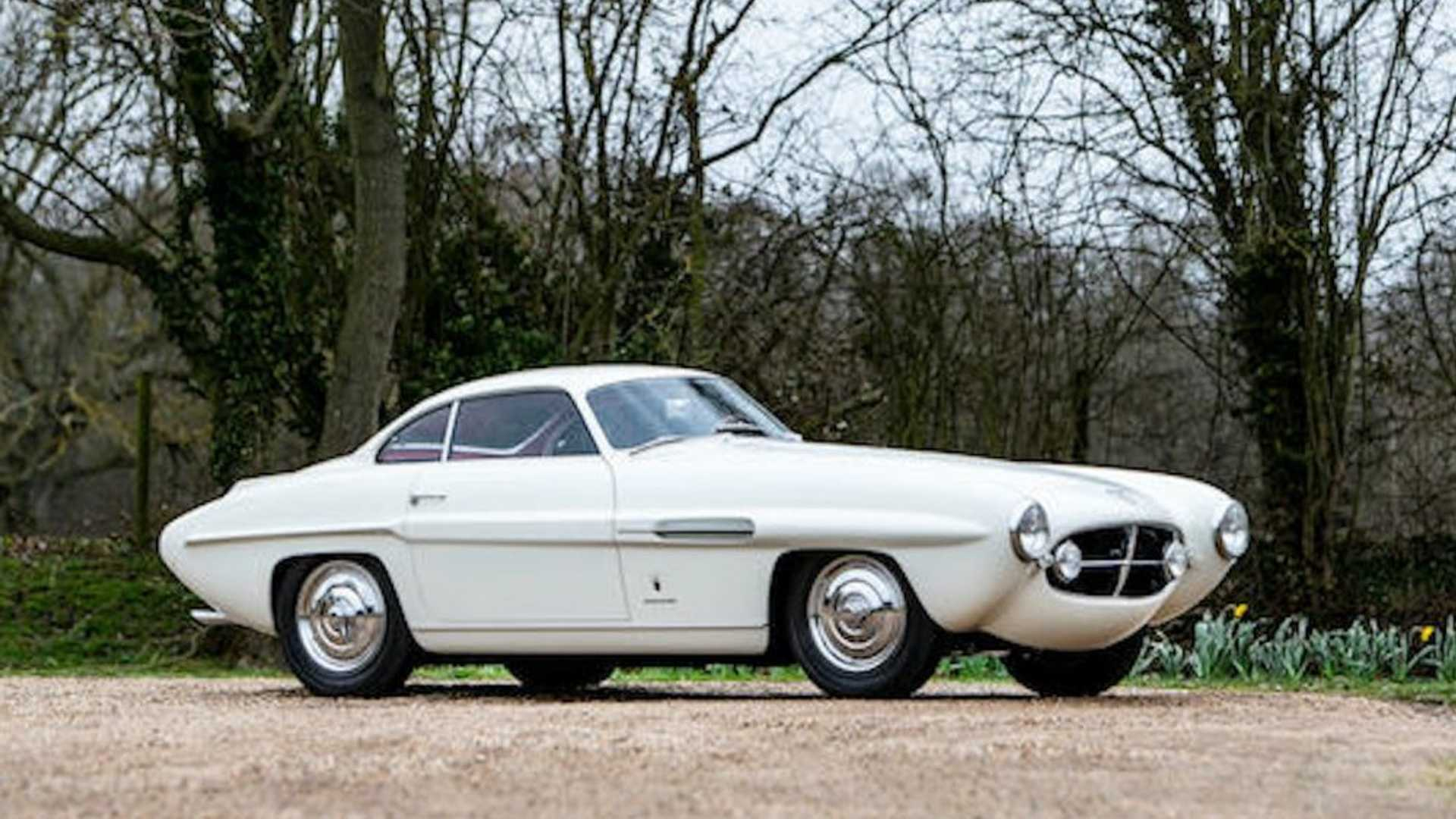 "[""1951 Ferrari 340 Coupe Sold At Bonhams During Monterey Car Week""]"
