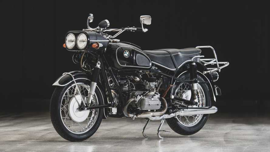 The BMW R60 With A Volkswagen Flat-Four Engine
