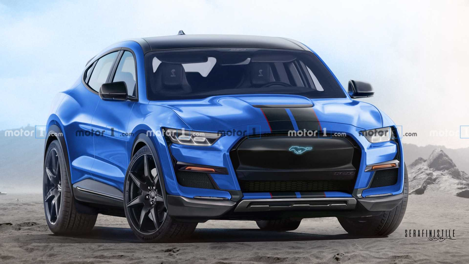 Plant Ford einen Mustang Mach-E Shelby?