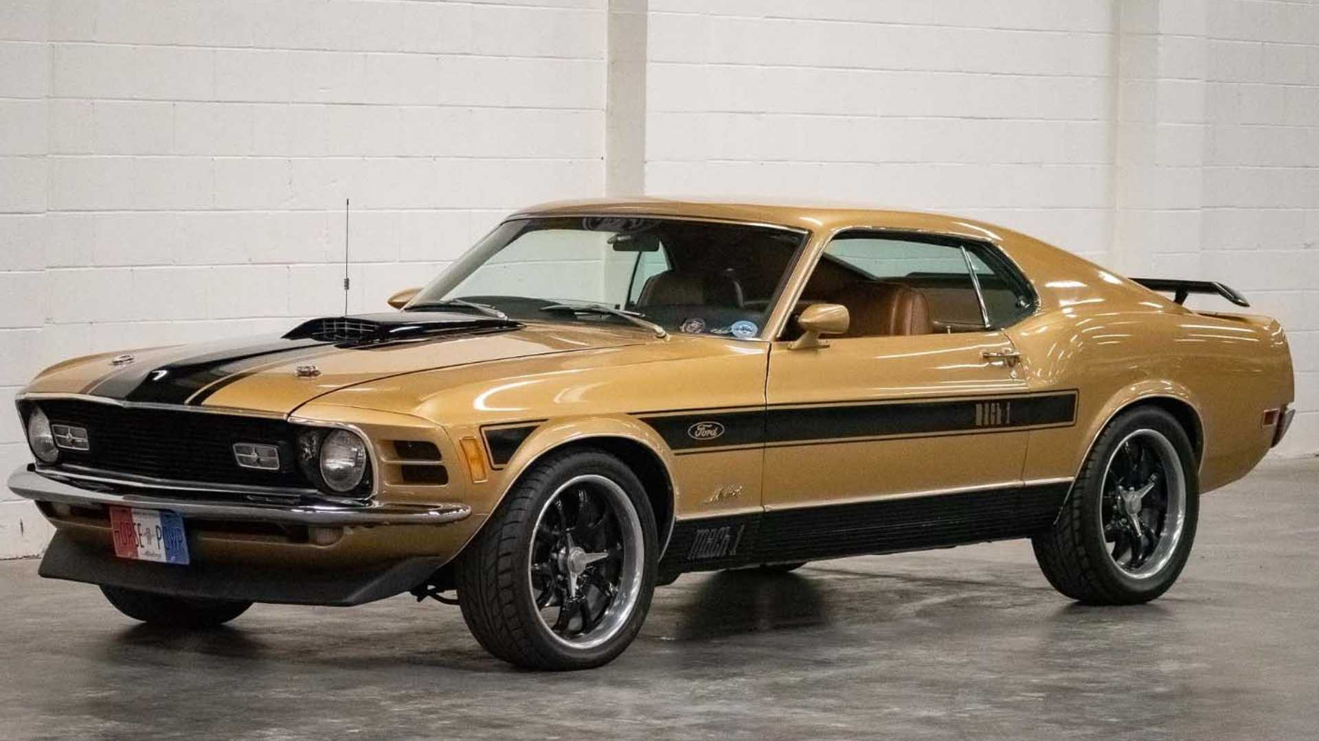 """[""""1970 Ford Mustang Mach 1 Is The Real Deal""""]"""