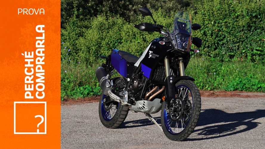Yamaha Ténéré 700, perché comprarla... E perché no