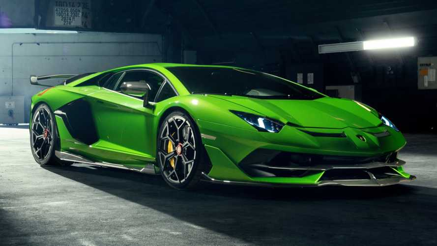 Lamborghini Aventador SVJ shaves weight thanks to Novitec