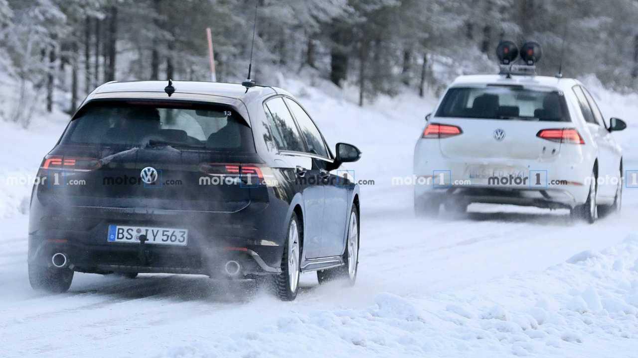 Volkswagen Golf GTI Spy Photos