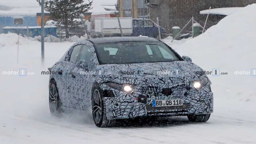 Mercedes EQS new spy photos