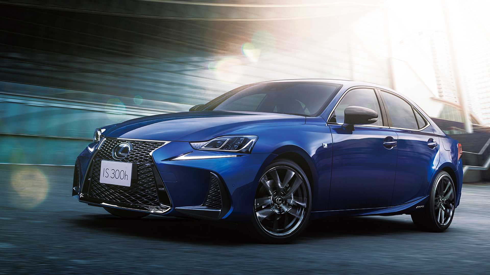 Lexus Is Feeling Blue With New High End Version Of Is Saloon