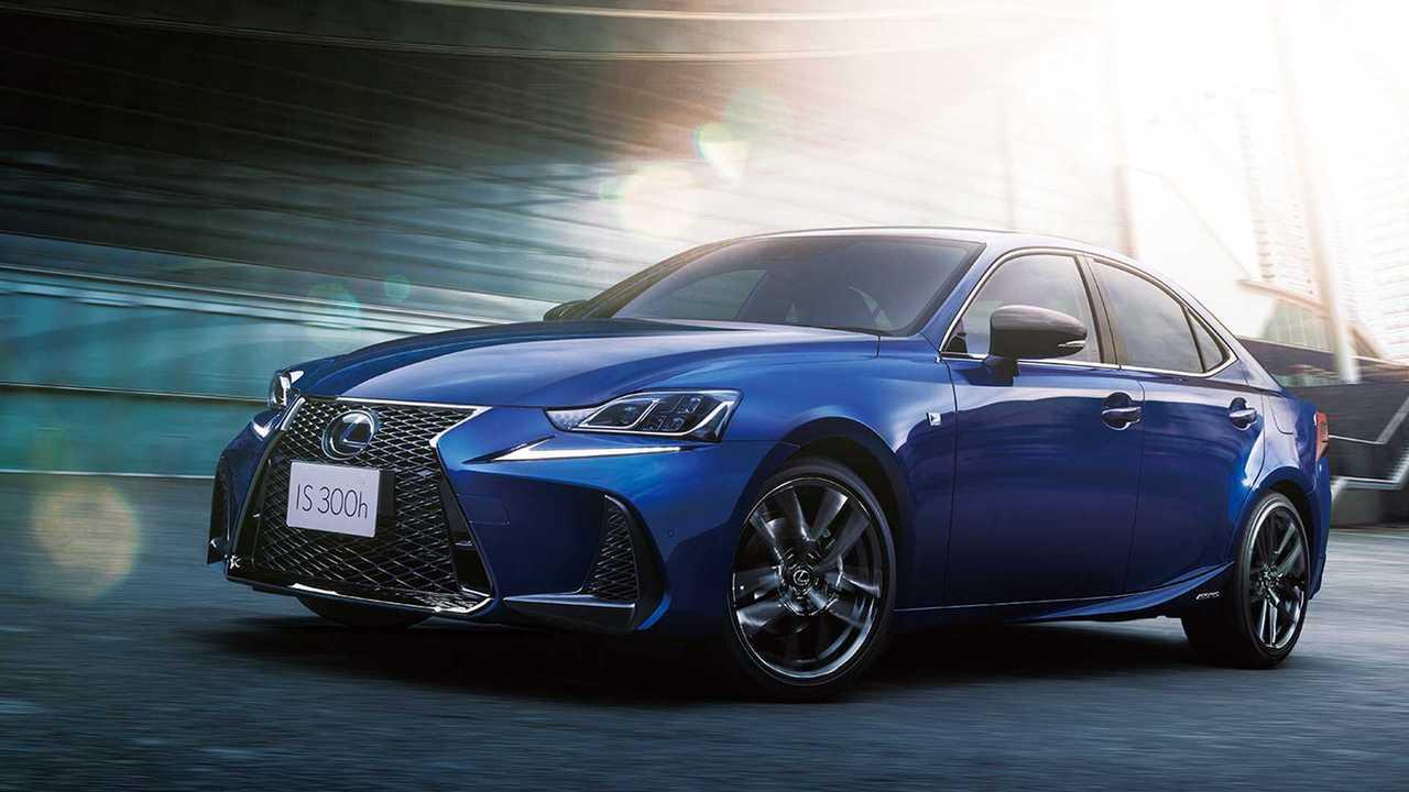 2020 Lexus IS I Blue