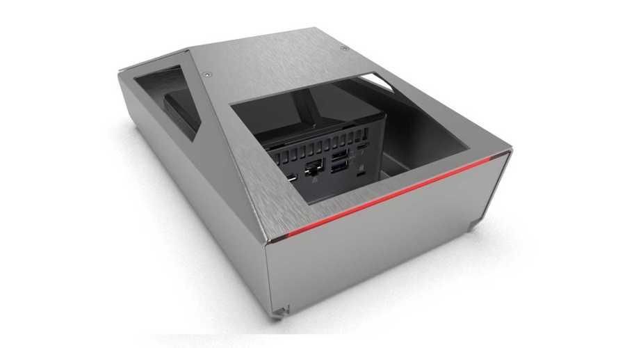 Представлен компьютер в виде пикапа Tesla Cybertruck