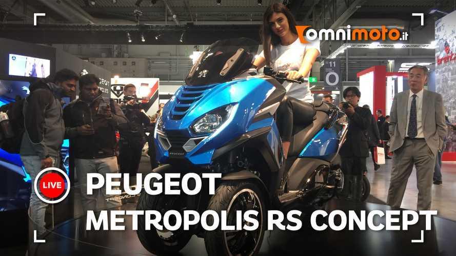 Peugeot Metropolis RS Concept, 3 ruote per il futuro