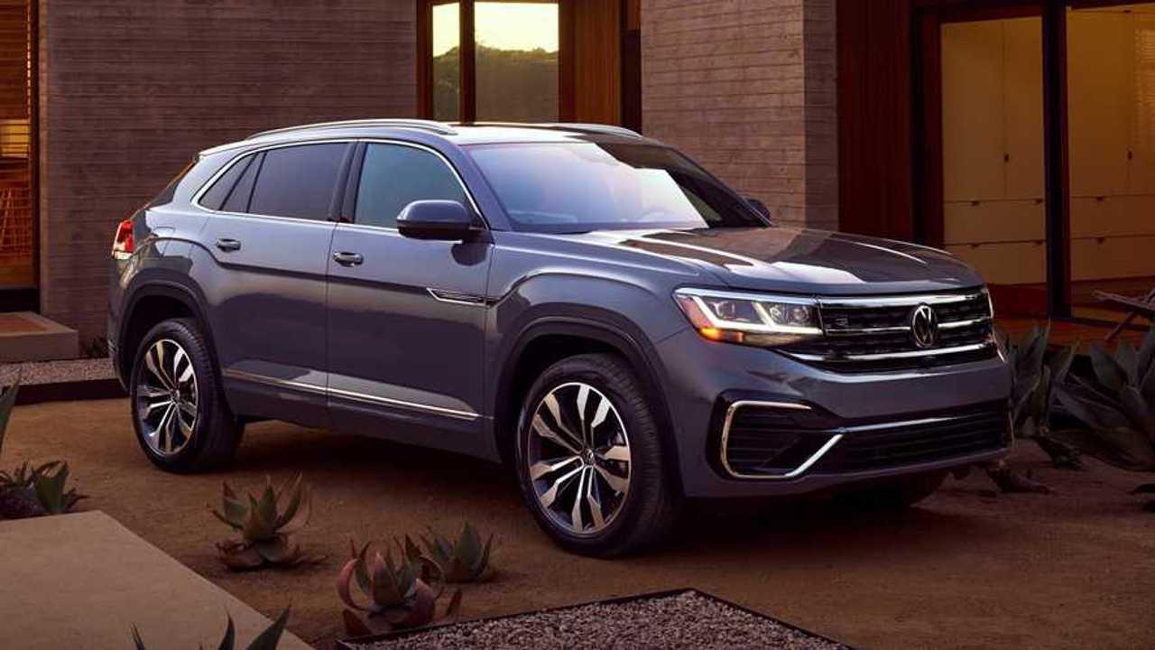 2020 VW Atlas Cross Sport Debuts, Brings Coupe Look To ...