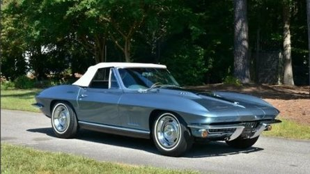 Take your pick from two gorgeous 67 chevy corvettes