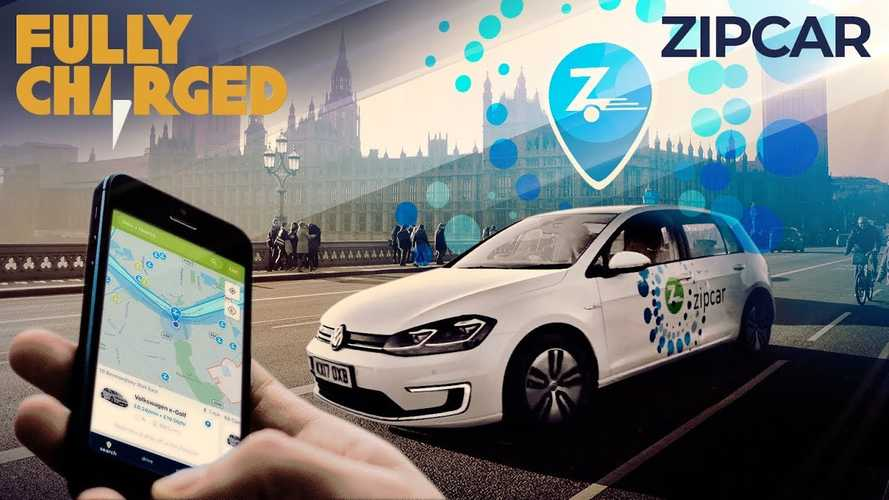 Zipcar London car sharing featured in Fully Charged video