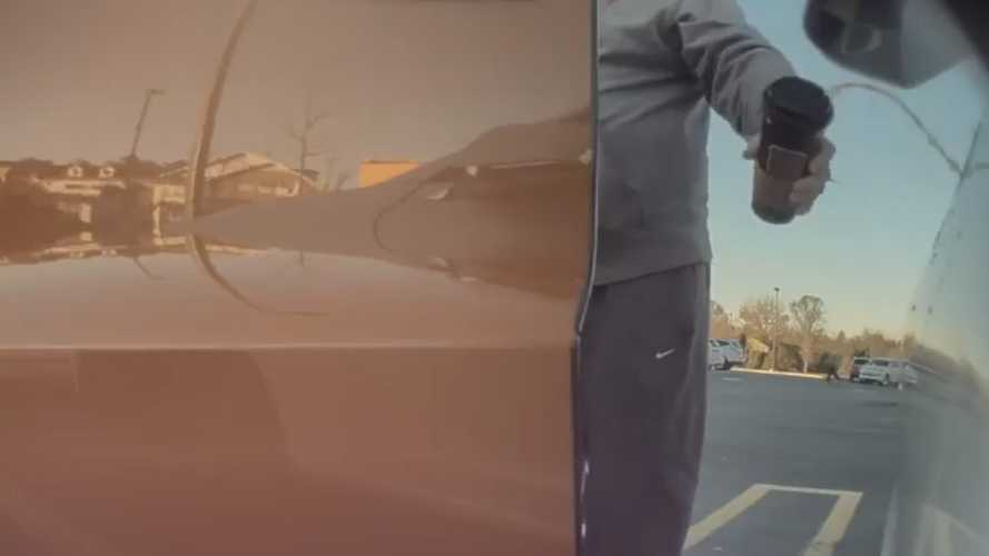 Vandals In Cars Getting Coffee: Tesla Hate Burns Durango Driver
