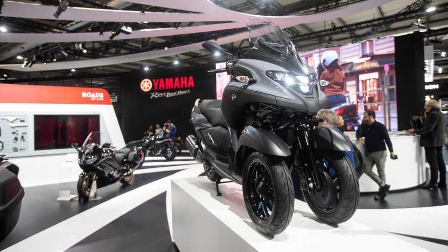 Yamaha Tricity 300, l'evoluzione dello scooter triruota
