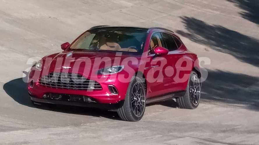 L'Aston Martin DBX ne se cache plus, le voici !