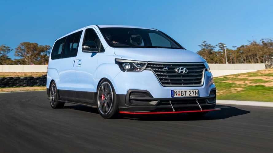 Hyundai H-1 N, una furgoneta con 407 CV para derrapar (vídeo)