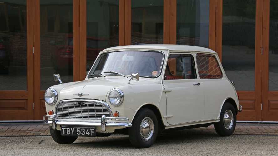 World's 'Most Original' Mini Goes To Auction With Only 272 Miles