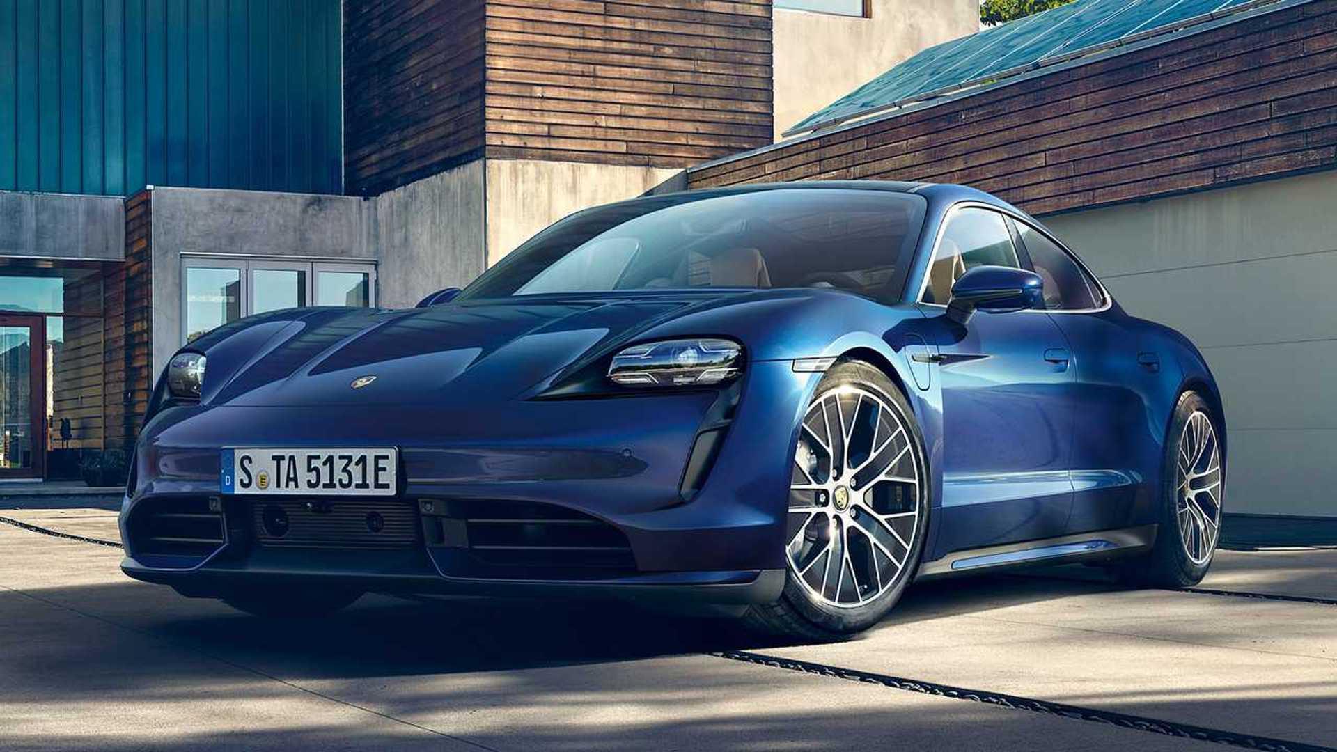 2020 Porsche Taycan Production Starts On Monday