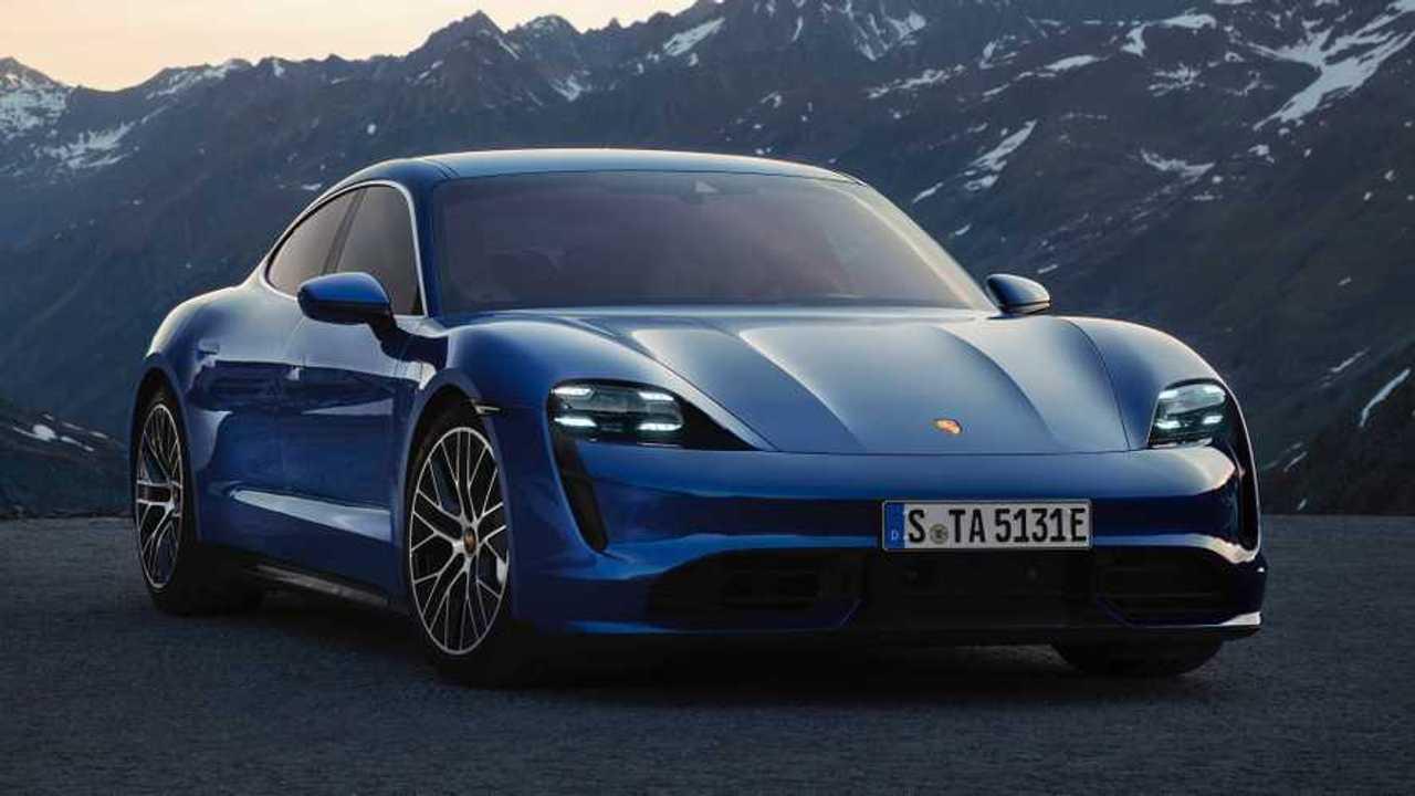 Porsche Taycan Lead