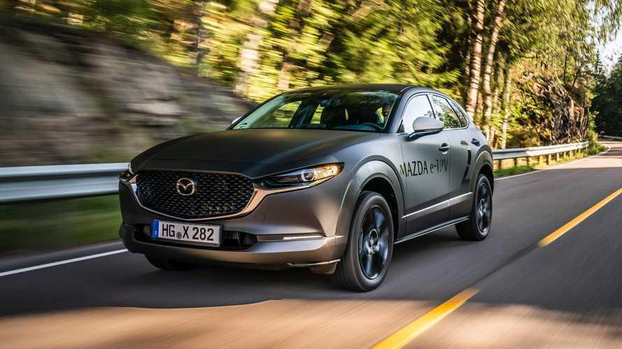 Mazda prepara la sua auto elettrica con una batteria