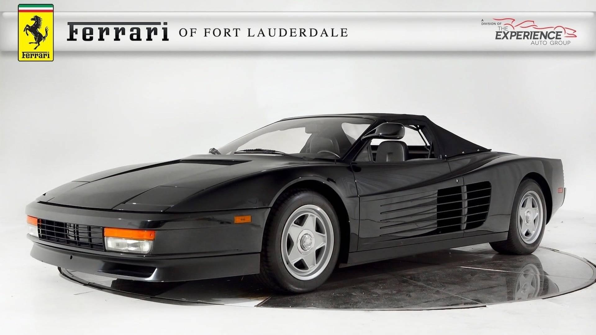 Who\u0027s Bad Enough To Buy Michael Jackson\u0027s Ferrari Testarossa