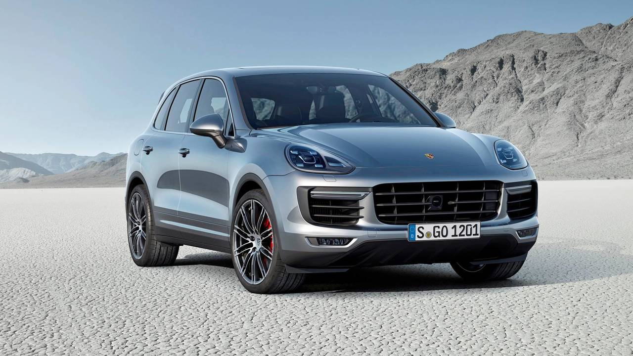 4. Porsche Cayenne Turbo S: Up to $233,990