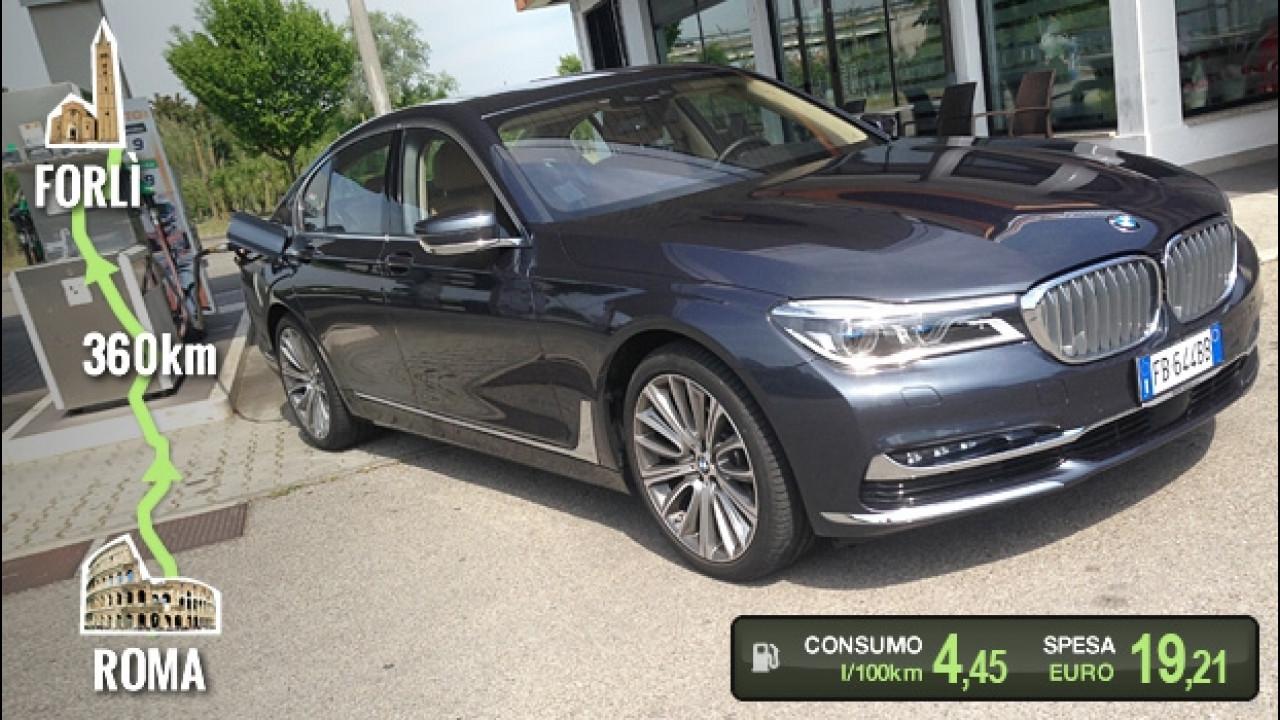 [Copertina] - BMW 730d, la prova dei consumi reali