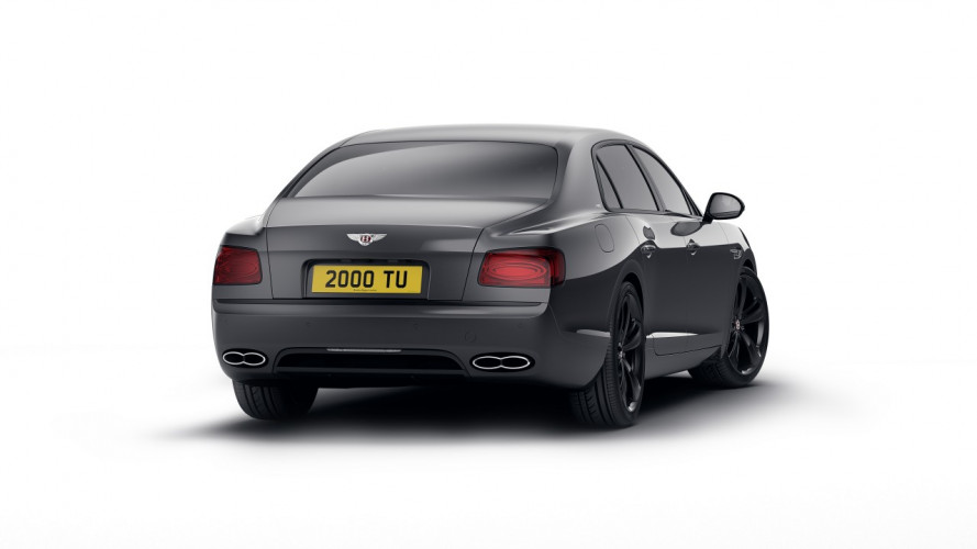 Bentley Flyng Spur V8 S Black Edition, il lato oscuro del lusso