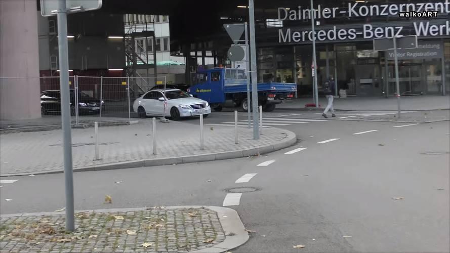 Vidéo espion - Mercedes C 350e restylée 2018