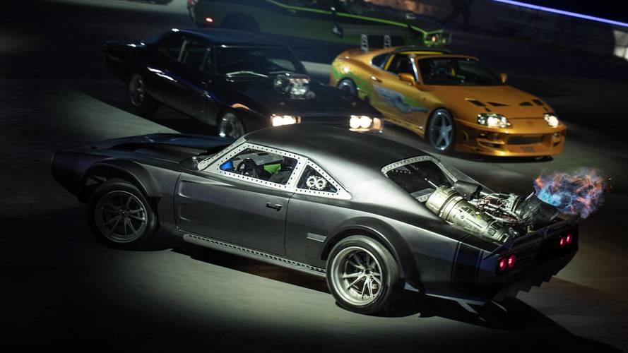 Les voitures du spectacle Fast & Furious Live sont à vendre