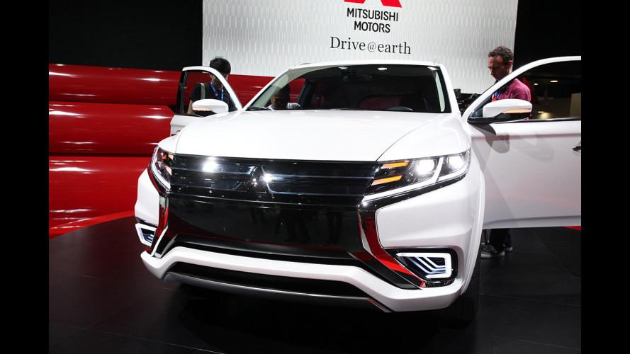 Mitsubishi al Salone di Parigi 2014