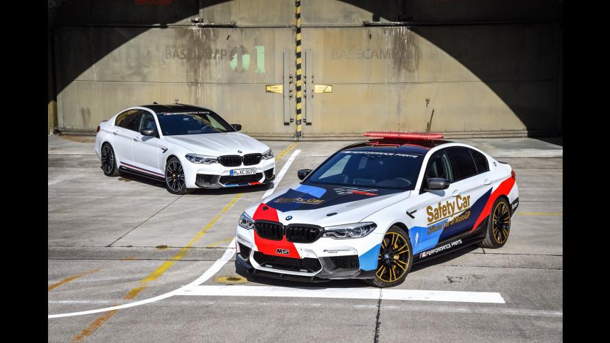 Nuova BMW M5, è lei la prossima safety car della MotoGP