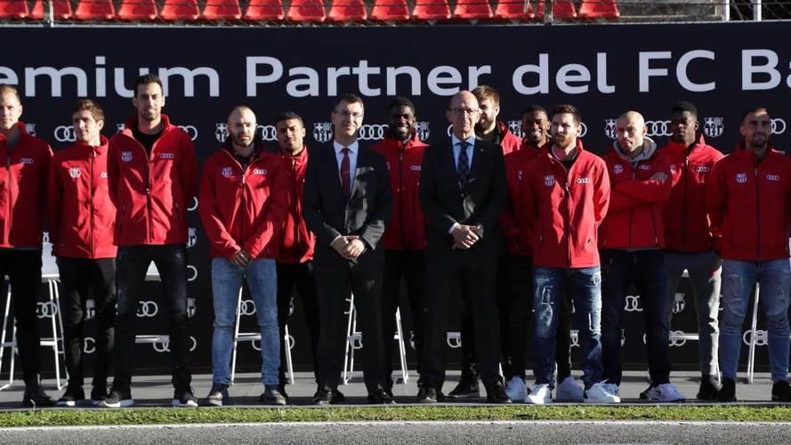 Audi: entrega de coches al Barça 2017/2018