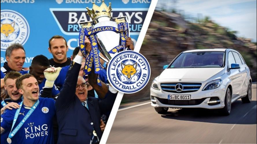 Leicester, una Mercedes Classe B elettrica ad ogni giocatore
