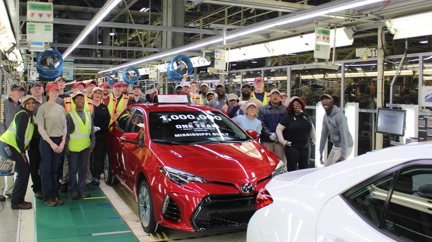 One Millionth Toyota Corolla from Mississippi